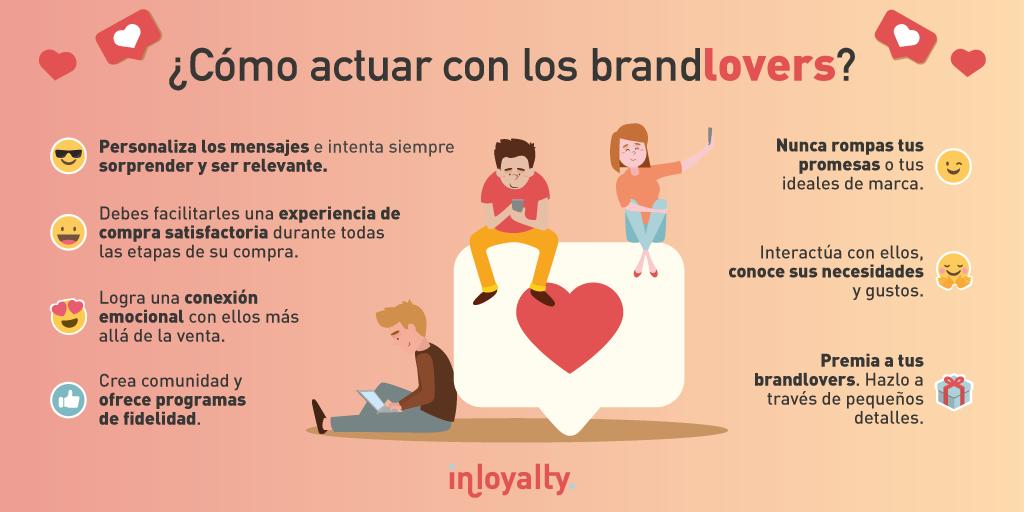 como enamorar brandlovers